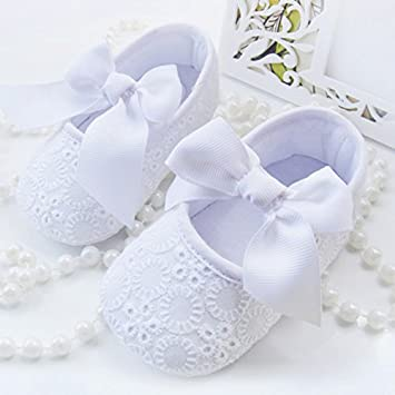 Somzie(TM) New Spring Summer Floral Baby Girl Princess Shoes Soft Sole Infant First