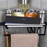 Forious Bathroom Shower Caddy and Kitchen Shelf