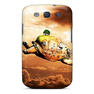 Ideal DustinHVance Case Cover For Galaxy S3(flying Turtle), Protective Stylish Case
