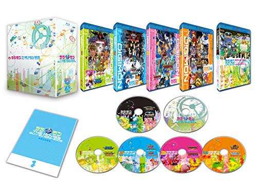 Animation - Digimon The Movie Blu-Ray 1999-2006 (5BDS+CD) [Japan LTD BD] BSTD-3773 by