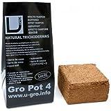 Sustrato / Bloque / Ladrillo Fibra de coco deshidratado U-Gro Pot4 (500g-