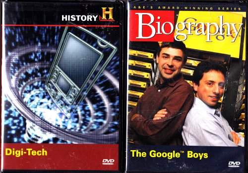 The Google Boys Biography , Digi-Tech The History Of Digital Technology Including The First Computer : 2 Pack Collection