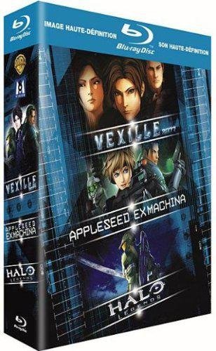 Vexille + Appleseed Ex Machina + Halo Legends [Blu-ray]