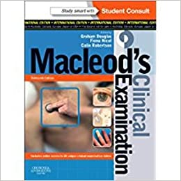 Buy macleods clinical examination with student consult online buy macleods clinical examination with student consult online access international edition book online at low prices in india macleods clinical fandeluxe Gallery