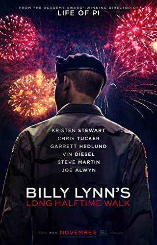 Billy Lynn's Long Halftime Walk 11x17 Inch Promo Movie Poster -  Super Posters