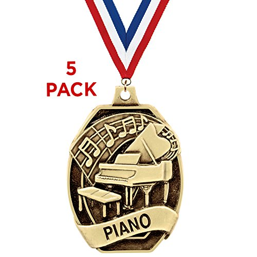 Crown Awards Piano Medals-2