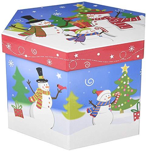 VERDUGOGIFTCO Merry Snowman Family Ornament Box Set