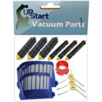 Replacement iRobot Roomba 595 Pet Series Filters, Bristle Brushes, Flexible Beater Brushes , 3-Arm Side Brush and Brush Cleaning Tool - Kit Includes 3 AeroVac Filters, 3 Bristle Brushes, 3 Flexible Beater Brushes , 3 3-Arm Side Brushes and 1 Brush Cleaning Tool