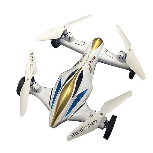 YXWJ Drone de Doble Uso terrestre y aéreo Avión de Cuatro alas ...
