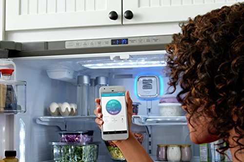 Kenmore Smart 75043 24 cu. ft. French Door Bottom-Mount Refrigerator in Stainless Steel - Works with Amazon Alexa, includes delivery and hookup (Available in select cities only) by Kenmore (Image #9)