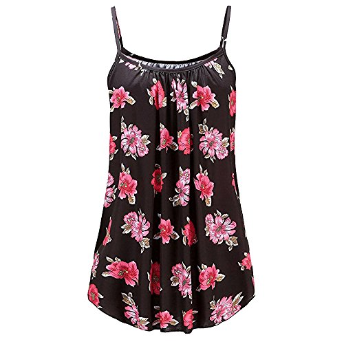 TnaIolral Women Summer Vest Printed Sleeveless Blouse for sale  Delivered anywhere in USA