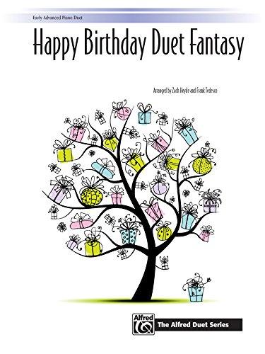 Happy birthday fantasy : for piano 4 hands