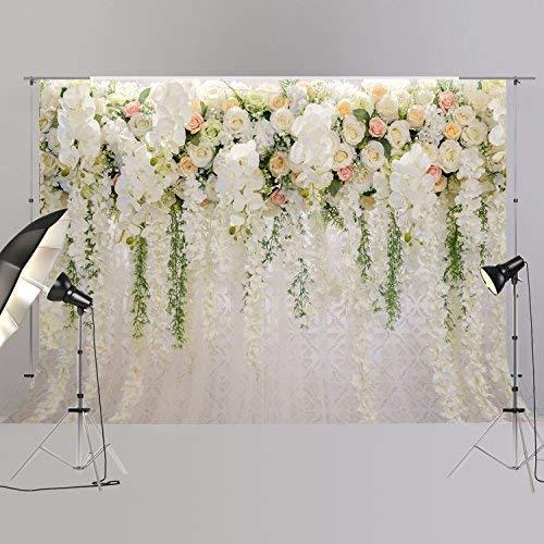 Bridal Shower Large Thin Vinyl Wedding Floral Wall