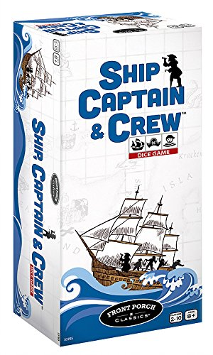 Captains Ship - Ship Captain & Crew Dice Game