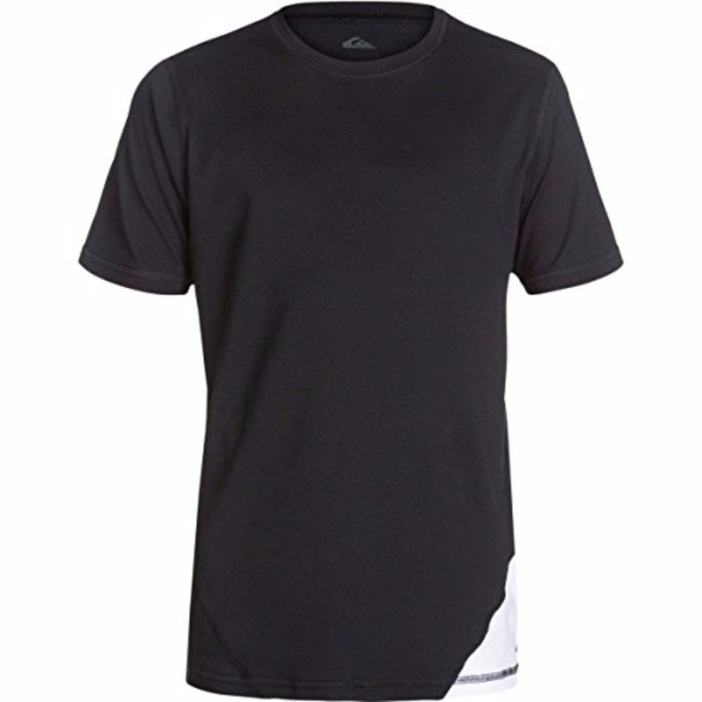 Quiksilver - Boys New Sound Surft T-Shirt, Size: Youth Small, Color: Black/White