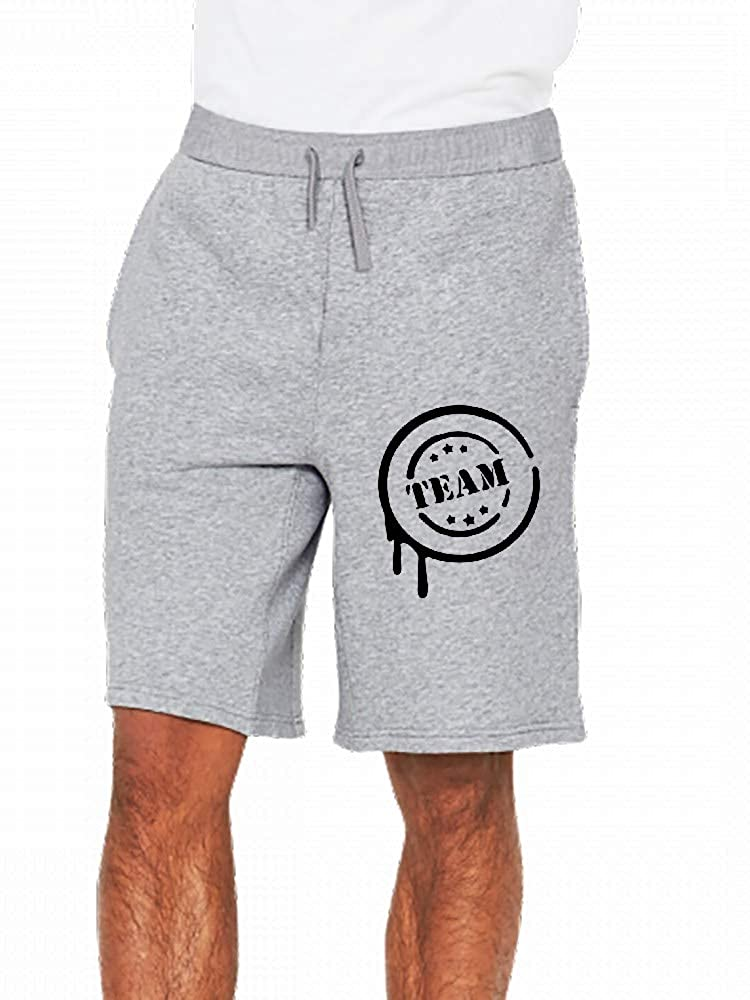 JiJingHeWang Team Mens Casual Shorts Pants