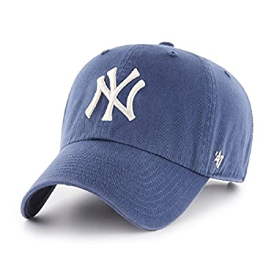 '47 Brand Adjustable Cap - CLEAN UP New York Yankees timber from 47 Brand