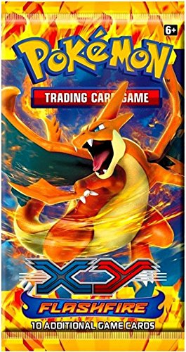 Amazon.com: Pokemon X & Y Flashfire (XY2) Booster Pack: Toys ...
