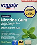 Best Nicotine Polacrilexes - Equate - Nicotine Gum Polacrilex 2 mg, Stop Review