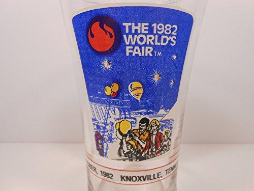 1982 McDonalds Coca Cola Worlds Fair Knoxville TN USA Commemorative Glass ()