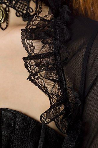 Bolero with Lace by Luxury Lingerie & Good negro