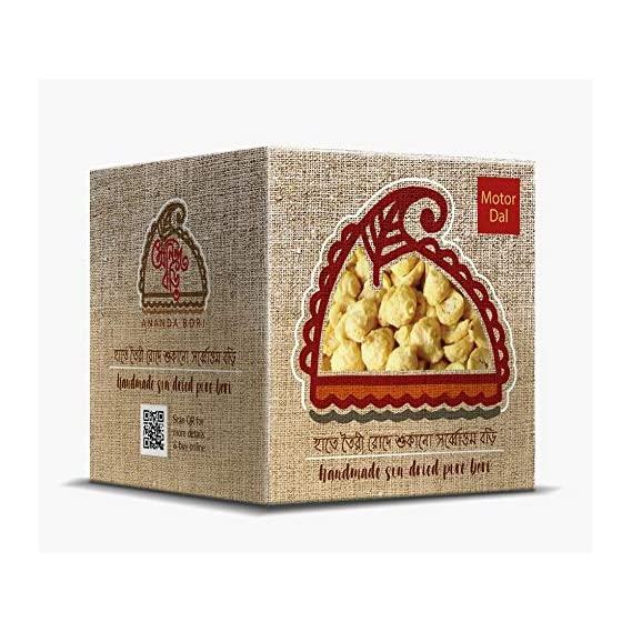 Ananda Bori Handmade & Sundried Matar Bori 120g (Pack of 3) - 360g