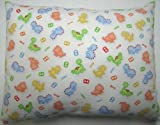 SheetWorld Twin Pillow Case - Percale Pillow Sham - Baby Dino - Made In USA
