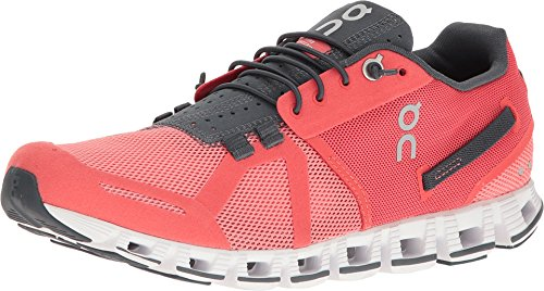 ON Cloud Road Running Shoes Olive/Flame Mens CORAL/SHADOW