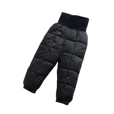 988de67f54a5 Hzjundasi Winter Newborn Infant Baby Girls  Boy  Down Trousers Keep Warm  High Waist Pants
