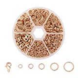 Wholesale 1350 PCS Open Jump Ring Jewelry Connector