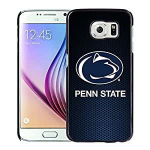 Unique and Fashionable Samsung Galaxy S6 Case Design with Penn State Nittany Lions Black Case
