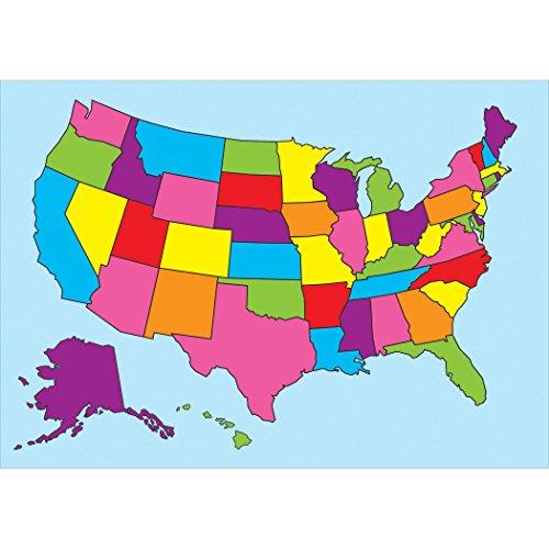 Ashley Productions ASH77012 Magnetic Chart, US Map