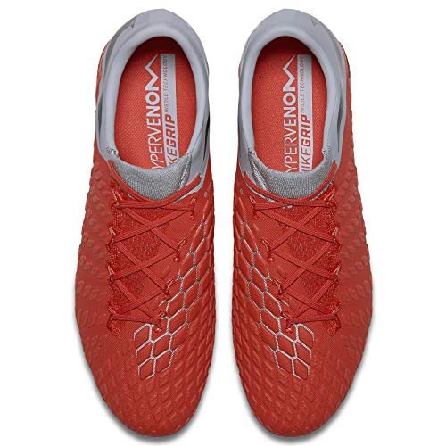 Zapatillas Nike lt De Hypervenom wolf Elite Fg Dark 3 Fútbol Crimson Unisex Adulto Grey mtlc 600 Rojo RIfTqI