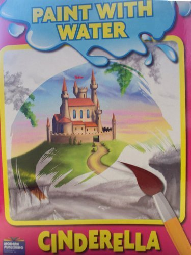 Cinderella Paint with Water Book