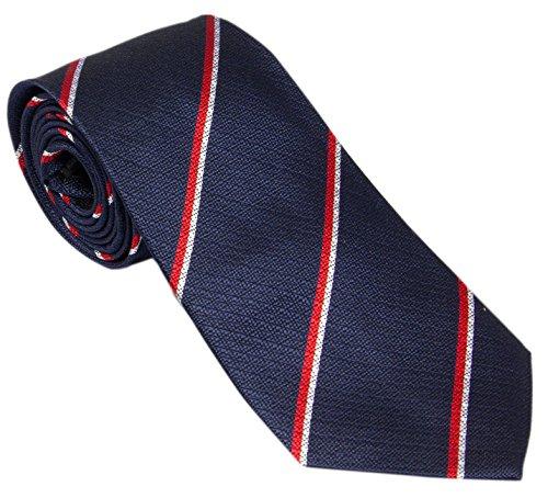 Navy Royal Silk Crease Tie Non TwgqqpXxB7
