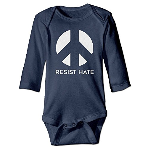 Resist Hate Funny Halloween Graphic Jumpsuit For Infant 0-24 Months