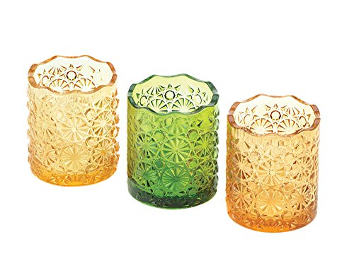 Home Locomotion - Lemon, Lime, And Orange Colored Candle Cups (pack of 1 SET)