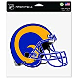 NFL Los Angeles Rams Retro Perfect Cut Color Decal, 8'' x 8'', Multicolor