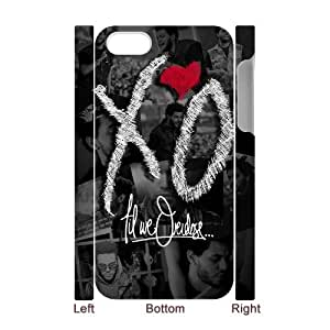 custom iphone4,iphone4s 3D case, The Weeknd XO 3D shell case for iphone4,iphone4s at Jipic (style 3)