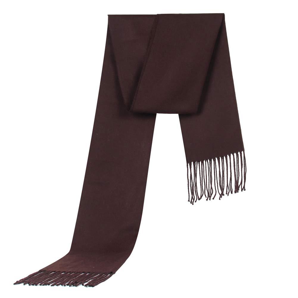 Emorias 1 Pcs Bufanda de Hombre Moda Otoñ o e Invierno Fulares Cuello Mantener Caliente Fulares Ropa Accesorios - Azul