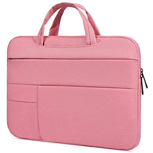 "15.6 Inch waterproof Laptop Sleeve Case Compatible with Acer Aspire E 15/Chromebook 15/Predator Helios 300,ASUS VivoBook F510UA 15.6, HP Pavilion X360 15.6"", LG HP Lenovo MSI 15.6 inch Laptop Bag,Pink"