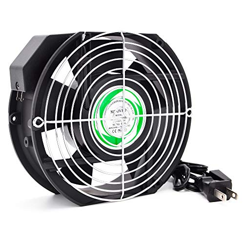 (Ac MDOVPD Cooling Fan, AC axial Fan,17251, 120V AC 172mm x 150mm x 51mm 110-120V for Cooling Ventilation Exhaust Projects,with UL, CE,3C)