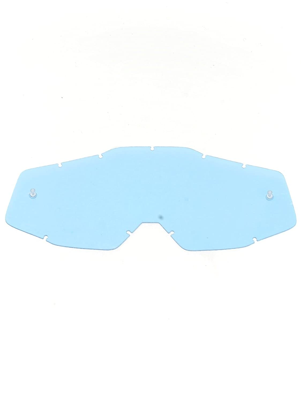 100 Percent Lente para gafas MX Racecraft-Accuri-Strata - With Posts Azul Anti-F