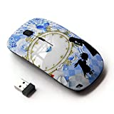 KOOLmouse [ Optical 2.4G Wireless Mouse ] [ Alice In Wonderland Rabbit Picnic ]