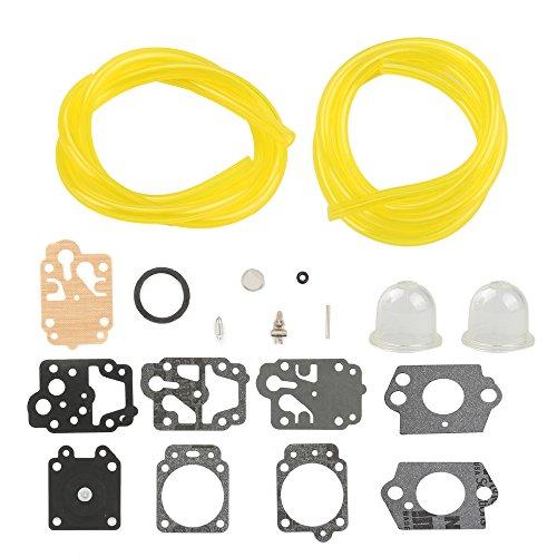 Harbot Pack of Carburetor Carb Gasket Primer Bulb Fuel Line For Stihl models KM100R KM110R KM90R SP90 SP90T FS90K HL90 HL95 HL95K S100RX FS110R FS110X FS110RX