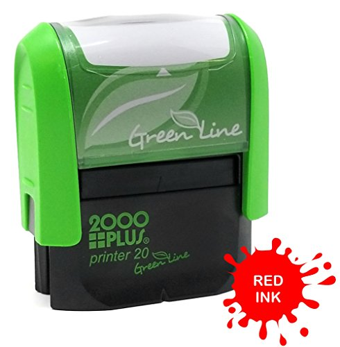 Custom Self Inking Rubber Stamp - 1 Line - 2000 Plus Stamp Plastic