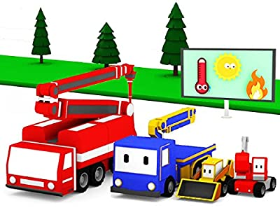 Learn with Tiny Trucks: The Fire Truck / Planting Trees