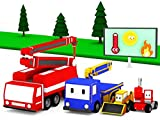 Aprende con los Mini Constructores: Plantar Arboles / El Cami/3n de Bomberos