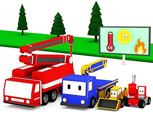 aprende-con-los-mini-constructores-plantar-arbolesel-camin-de-bomberos