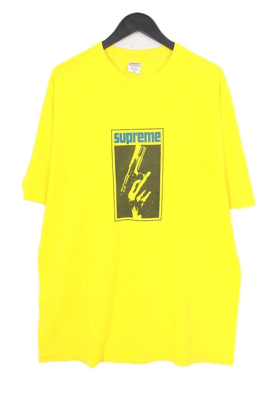 (シュプリーム) SUPREME 【2005】【 Stax Gun Tee】スタックスガンプリントTシャツ(XL/イエロー) 中古 B07FBB8TS8